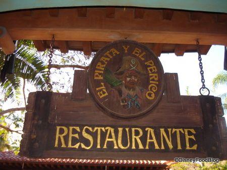 Guest Review: El Pirata Y El Perico | the disney food blog