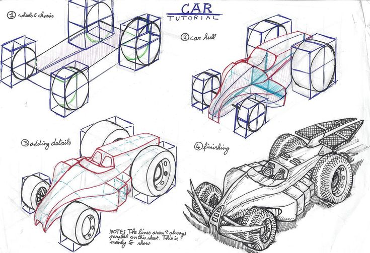 car perspective tutorial by akaga.deviantart.com on @deviantART