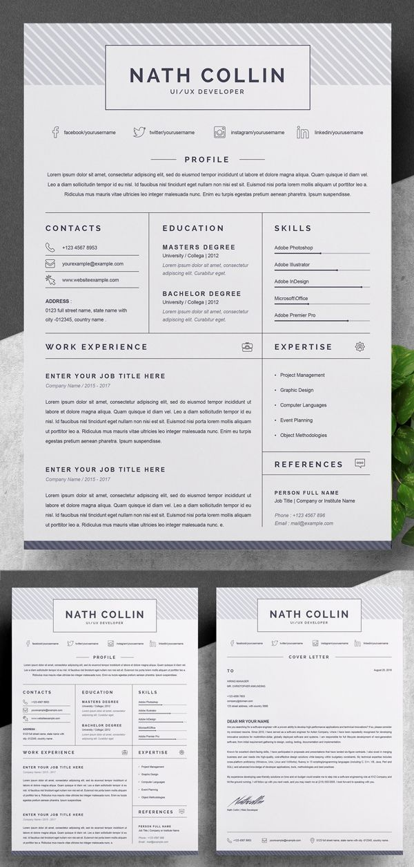 Free Resume Templates Downloadable Resume Template Resume Design