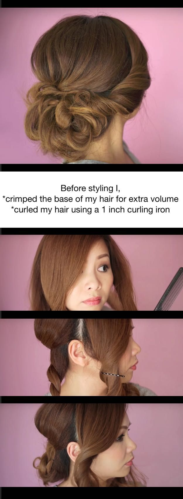 Quick and Easy Updo Hairstyles - Easy Summer Twist Updo Hair Tutorial - Hair Hacks And Popular Haircuts For The Lazy Girl. Hairdos and Up Dos Including The Half Up, Chignons, Twists, Beauty Tips, and DIY Tutorial Videos For Bangs, Products, Curls, The Top Knot, Coiffures, and Shoulder Length Hair - https://www.thegoddess.com/quick-easy-updo-hairstyles