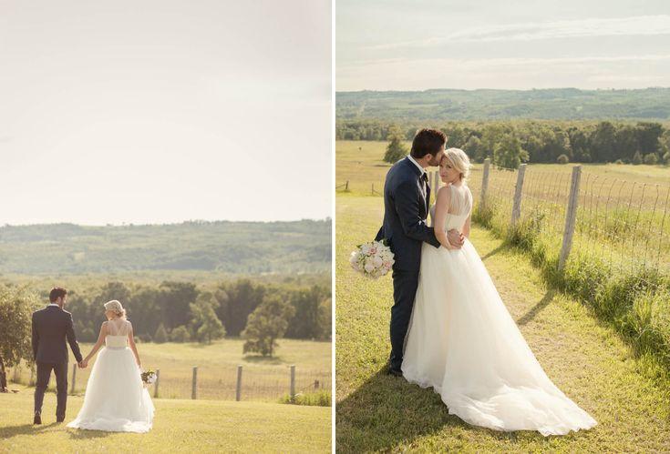 outdoor farm wedding blue mountains  by: Tied Photo & Films  #outdoorwedding #rusticweddingontario