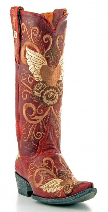 Red Old Gringo Cowboy Boot