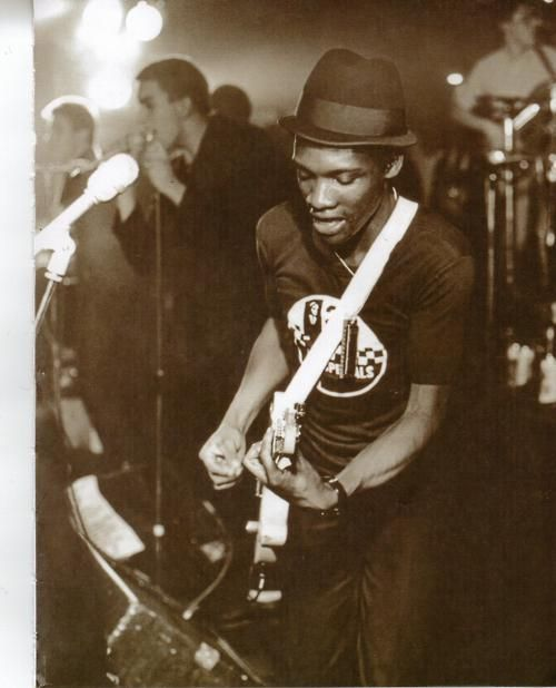 The Specials on stage, 1979