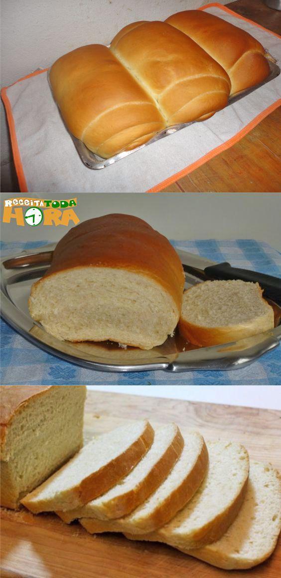 Receita De Pão Caseiro Macio Receita Receitas Culinárias