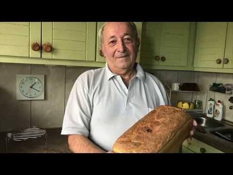 chleb domowy- naprawdę łatwy... spróbuj na święta - YouTube