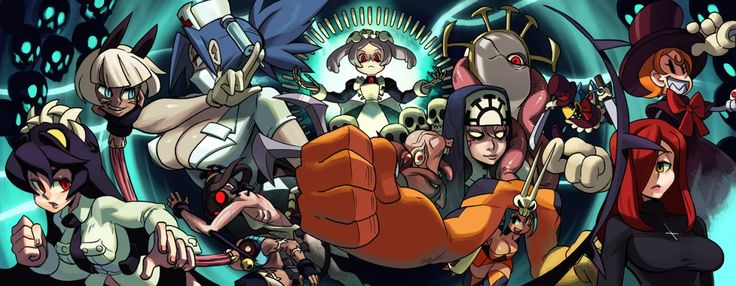 HOT 2D FIGHTING!!! // Skullgirls 5th Anniversary!