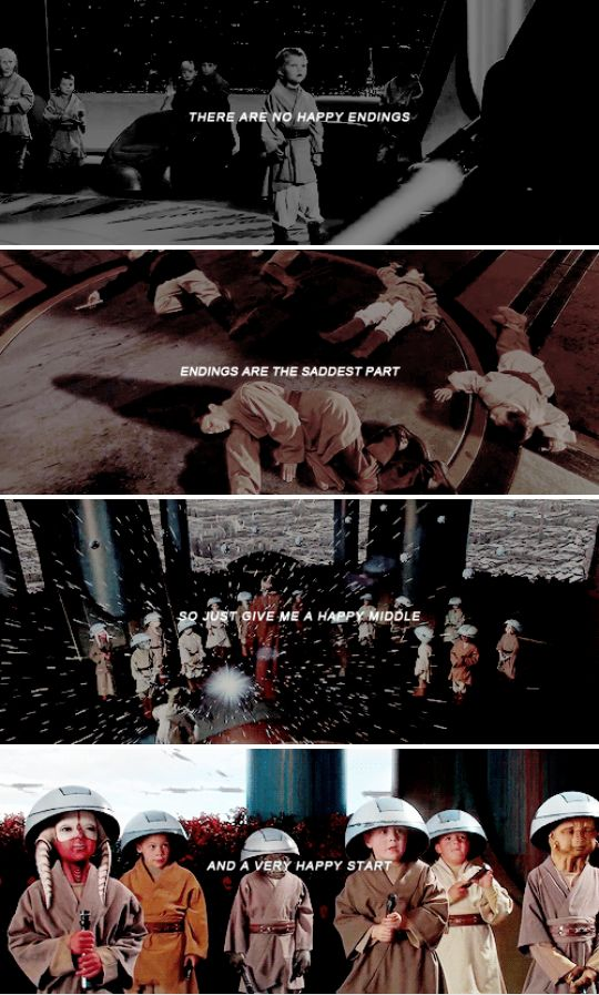 happy ending? there are no happy endings #sw
