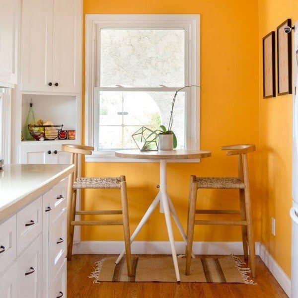 10 Cosas Que Puedes Limpiar Con Vinagre Al Elegir Un Co Paredes De La Cocina En Naranja Pintomi Paredes De Cocina Decoracion De Cocina Pinturas Para Cocinas