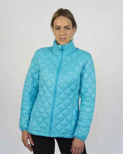 Moke Quilted Packable Jacket - Moke Blue – Sally Anne