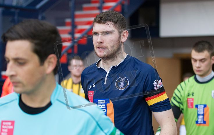Queen's Park's Ryan McGeever before the Ladbrokes League One game between Queen's Park and East Fife.