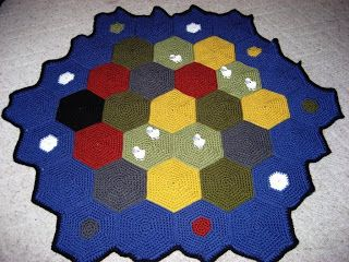 Cthulhu Crochet and Cousins: Settlers of Catan 'ghan! With Free Pattern