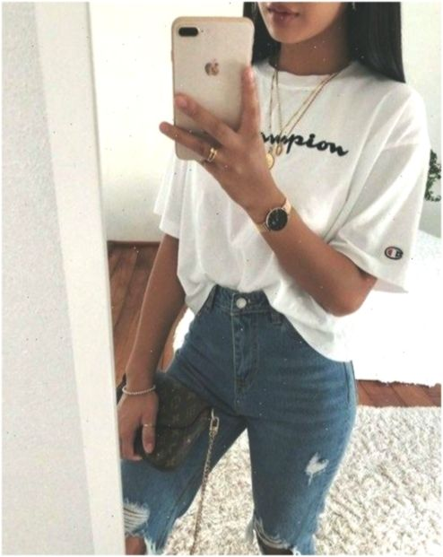 50 Easy And Cute Summer Outfits Ideas For School 2019 00003