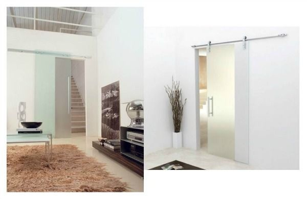 Puertas correderas tipo granero para interiores estilo - Correderas para puertas corredizas ...