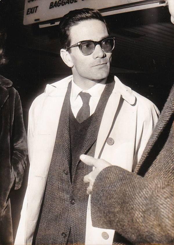 Pier Paolo #pasolini in 1961