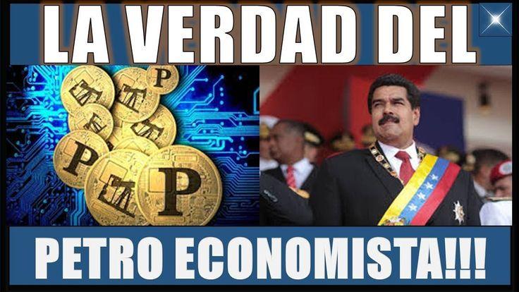 ULTIMAS NOTICIAS!VENEZUELA 23 FEBRERO 2018||LA VERDAD DE LO QUE HAY DETRÁS DEL PETRO ECONOMISTA!!