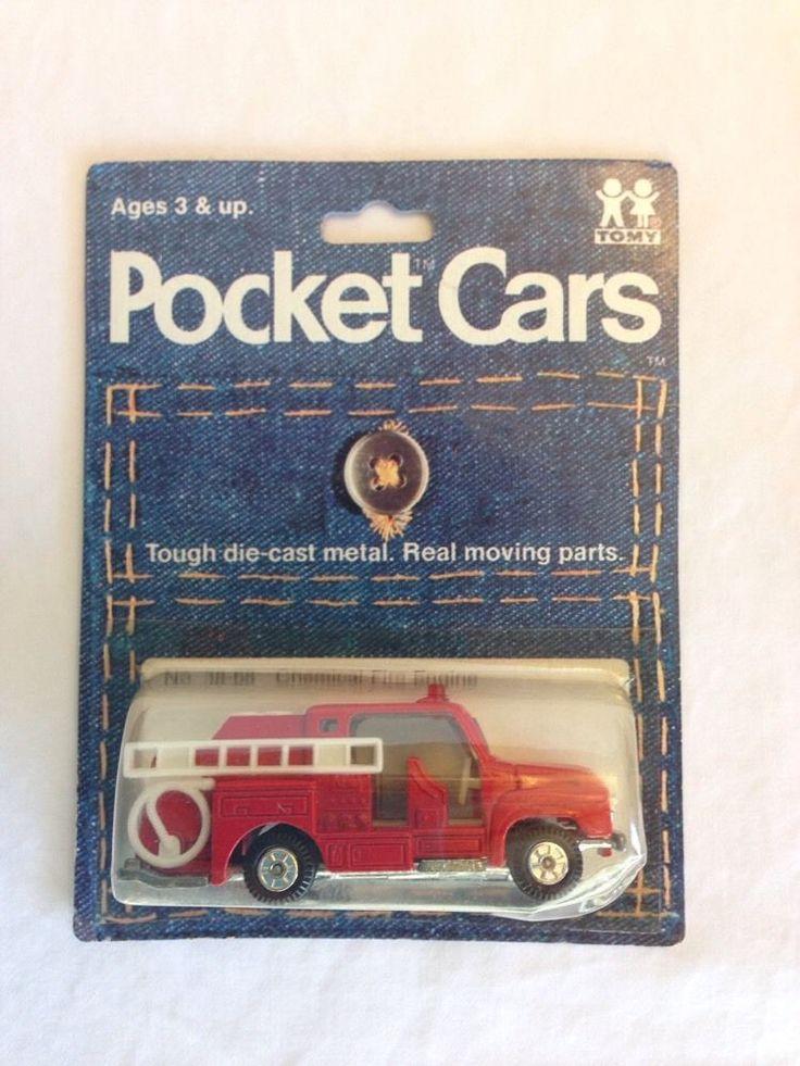 Tomy Tomica 38 68 Isuzu Fire Chemical Engine Pocket Cars Japan Mint 1974 | eBay