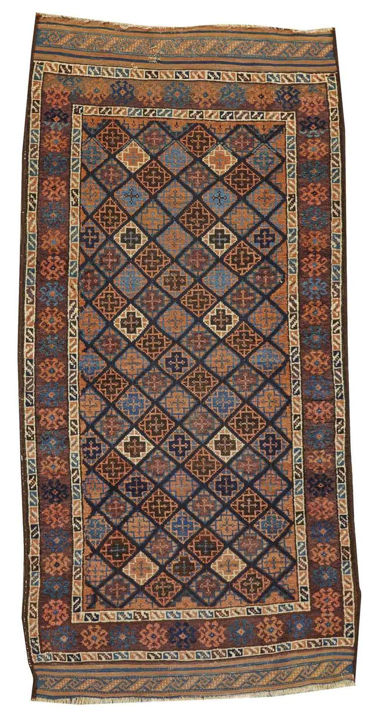 Lot 1196. Baluch rug, Northeast Persia, late 19th century, approximately 3ft. 1in. x 6ft. 2in. US$800-1,200