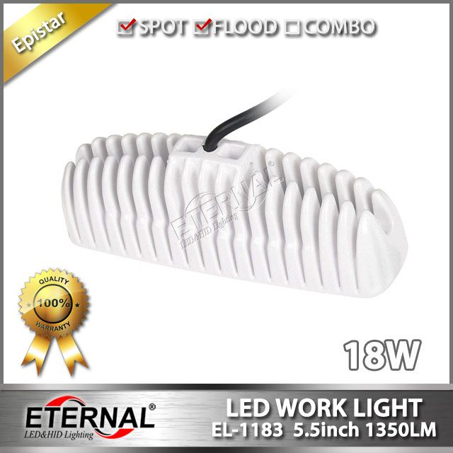 mini 18W white led work light for marine boat ship vessel