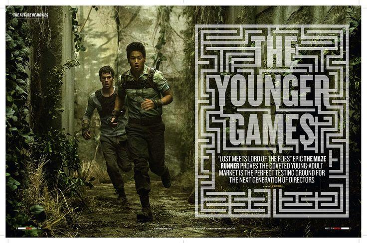 Maze Runner / Empire Magazine by Adam Gerrard