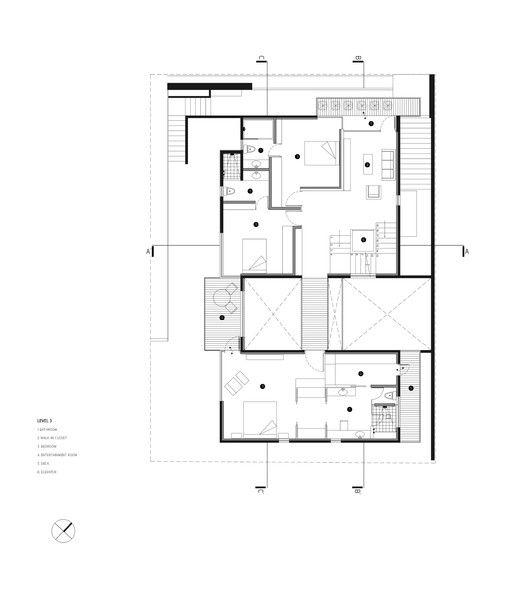 6860 best arquitectura architecture images on pinterest floor galeria de residncia z guillot arquitectos 17 malvernweather Images