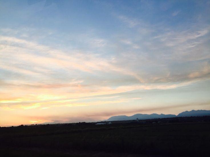Orange Clouds BC