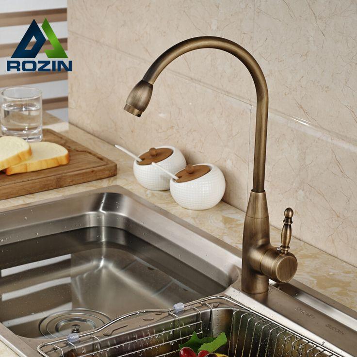 49 20 Buy Deck Mount Single Handle Mixer Taps Kitchen Sink Faucet Kitchen Faucet Ideas