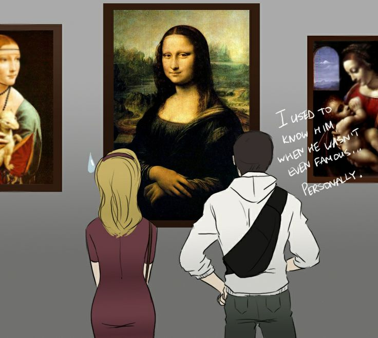 Assassin's Creed II humour. We all knew Leonardo DA Vinci.  Before He Was Famous
