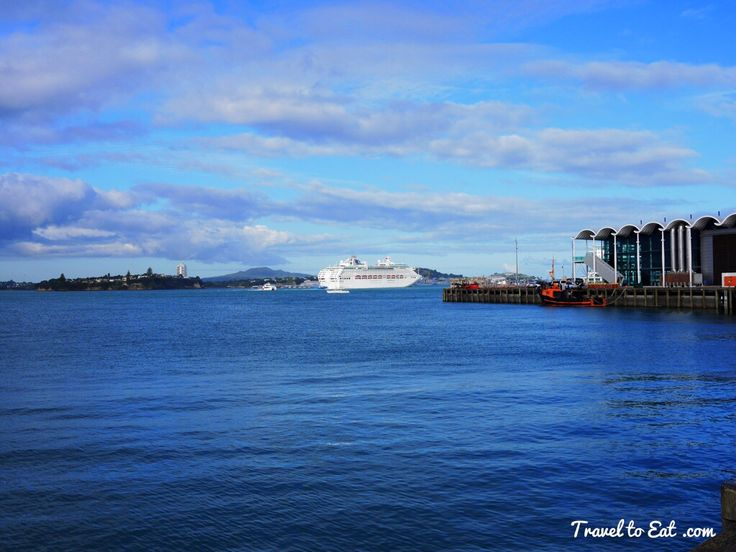 Waitemata Harbor. Auckland, New Zealand