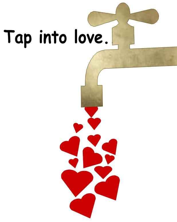 tap into love <3