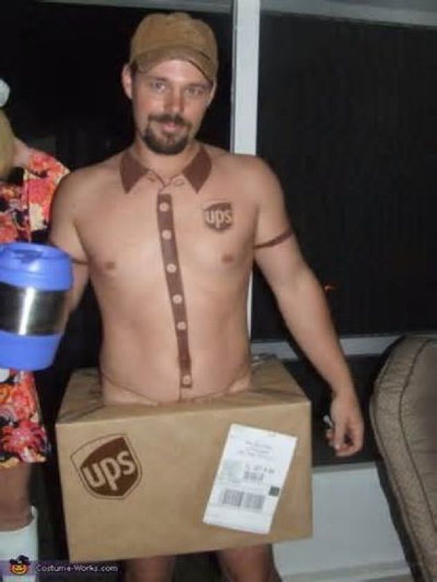 halloween costume - Ups Man Halloween Costume
