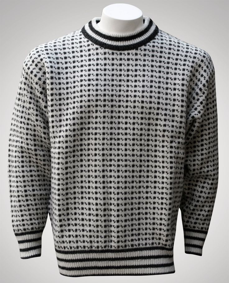 Icelandic sweater by Norwool, Norway, £54.95
