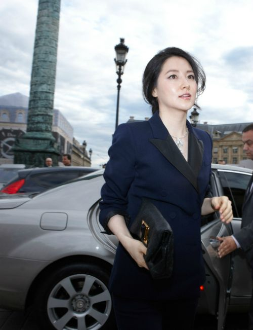 Korean actress, Lee Young-ae