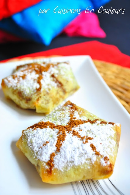 Cuisinons en Couleurs: Pastilla de poulet aux amandes