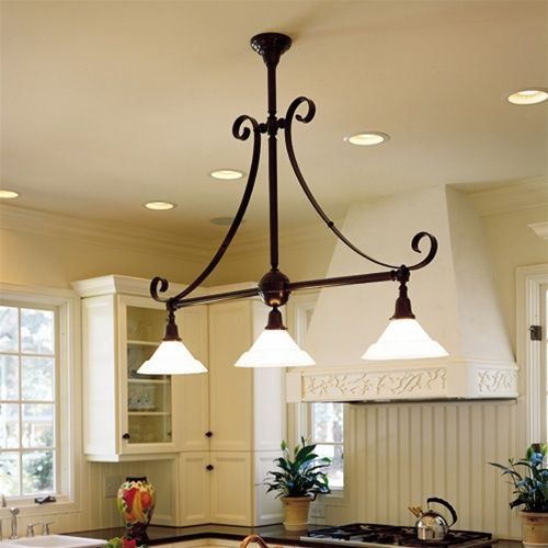 17 best country kitchen lighting images on pinterest for Island kitchen lighting fixtures