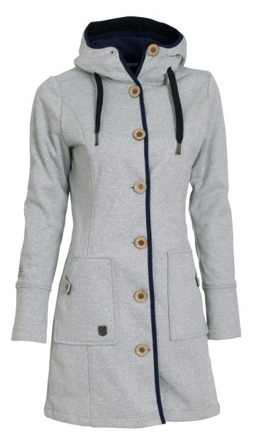 Woolshell Ladies´ Button Grey