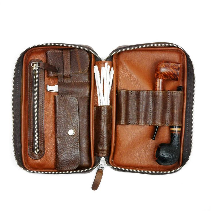 Castano Leather Pipe Case