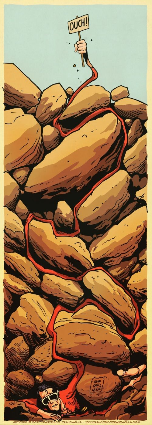Plastic Man by Francesco Francavilla
