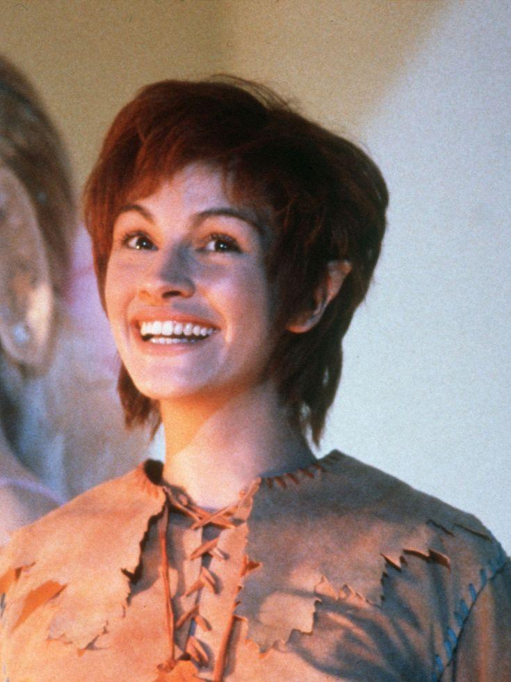 """Julia Roberts in """"Hook"""" (1991). DIRECTOR: Steven Spielberg."""