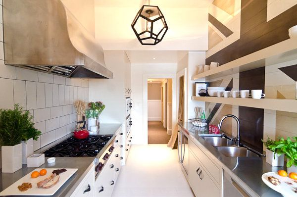 10 Stylish Stainless Steel Kitchen Designs - http://decorextra.com/10-stylish-stainless-steel-kitchen-designs/