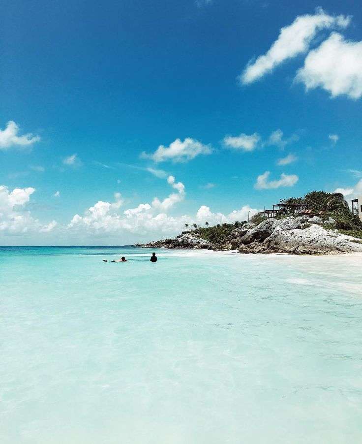 Tulum blues - Tulum Beach- Tulum, Mexico // by Jessica Stein - Tuula