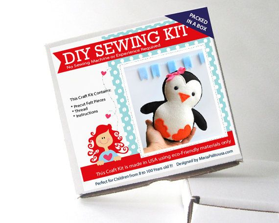 Sewing Kits & Patterns - Learn To Sew by Caroline Beavers on Etsy