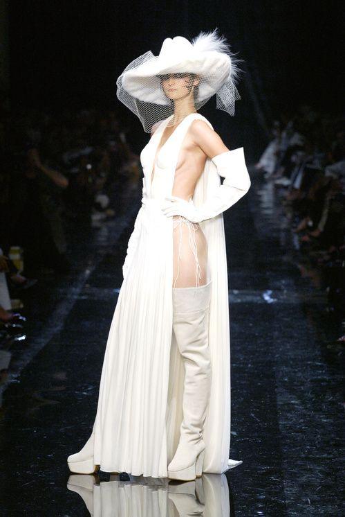 Jean Paul Gaultier Fall/Winter 2004-2005- wedding - dress - bride