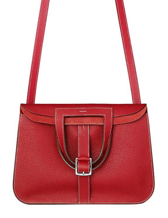 Halzan on Pinterest | Hermes, Red Leather and Handbags