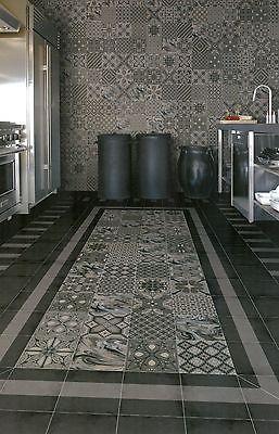 Dekor-Bodenfliesen-20-x-20cm-Mosaik-Muster-Fliesen-fuer-Wand-Boden-Castelo