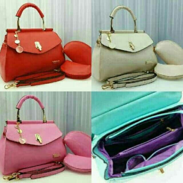 #tas#tascharlesandkeith #charlesandkeithbag #charlesandkeith  (205ribu) Boom Sale 3in1Charles & Keith Elsa  CL 1504#  Leather Taiga Semprem# 31×14×22 & 18×5×10 (1,3kg)hc Bagus, Kokoh,  Feminim Super Murah Ayo Buruan 👍👍 BB 5994f533 WA 08566549554/085765037530 Tokopedia Hasna Wakhid olshop FB Hasna Wakhid tas