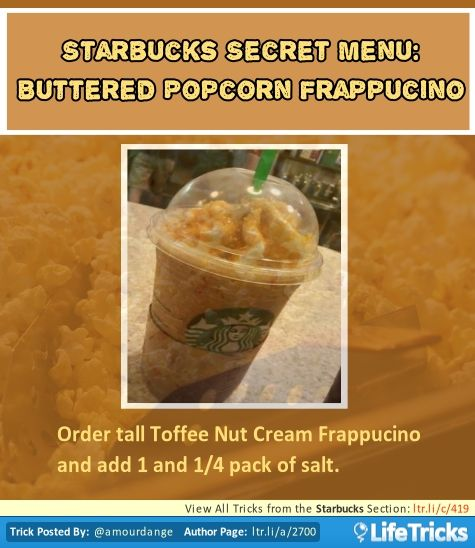 how to get a drink from starbucks secret menu