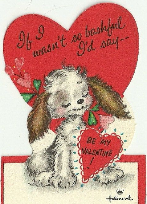 97 best Vintage Valentines  More images on Pinterest  Valentines