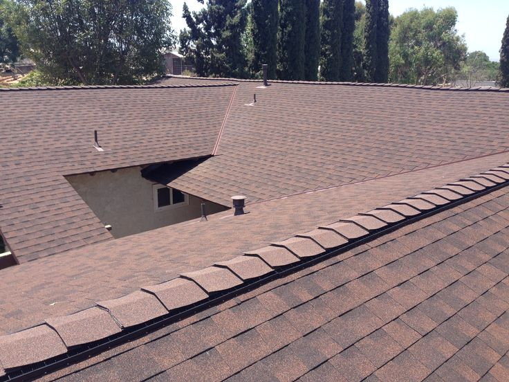 Vent your hot attic with gaf cobra 3 ridge vent by t g for T g roofing