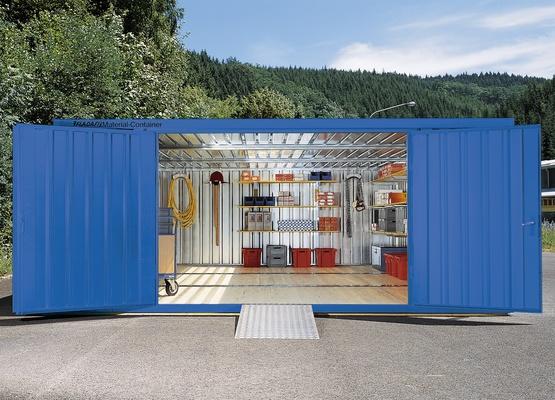 Materialcontainer / Lagercontainer verzinkt / isoliert - FLADAFI®   Säbu Morsbach   Lagercontainer   logismarket.de