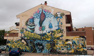 'Cantamañanas International Urban Art Festival'  [Huarte, Spain 2012]